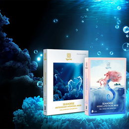 [rarita]❤Seahorse Antioxidant Hydrogel / Hydro-Lipid Facial Mask❤Horse oil/Jeju/SBA17_049