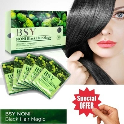 BSY NONI Black Hair Magic Shampoo Deals for only Rp69.500 instead of Rp69.500