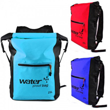 25L PVC Waterproof Outdoor Dry Storage Bag Rafting Sports Kayaking Canoeing Swimming Bag Travel Kit