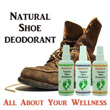Shoe Deodorizer - Natural - Safe - Eco Friendly - 3 Scents - Peppermint - Lavender - Orange.