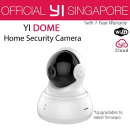 [Official YI Store] XIAOYI YI DOME CAMERA 1 / 1080P DOME CAMERA (International Set)   Pan Tilt Zoom