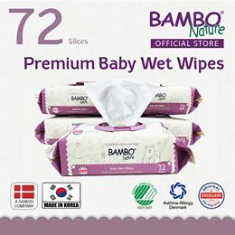 [Best Seller ] Premium Bambo Nature Baby wet wipes  (MFD 16-JANUARY-2020) - Made in KOREA