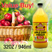 Organic Bragg Apple Cider Vinegar with the Mother 946ml / 32OZ
