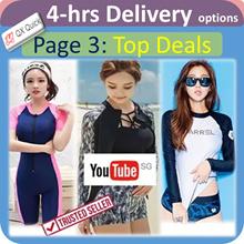 🇸🇬👙4-hrs delivery option👙[Page 3] Swimsuit latest Design Fashion Rashguard UV Protection