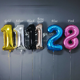 40 inch Alphabet Balloon/ Letter Number Alphabet Balloons / Foil Balloon/ Wedding Party Decoration/
