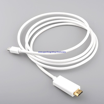 Gold Mini DisplayPort to HDMI Adapter Cable For Microsoft Surface Pro 2 3