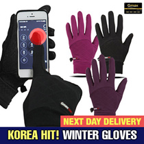 [ Local Delivery ] KOREA HIT!! / Winter Smart Touch Warm Glove Warm /Men kids Women Bike / Bicycle