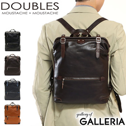 Double Sleepless DOUBLES Backpack Small Leather A4 Leather Commuter School  Men   39s Womens JUE- b1e07eb4aa4f7