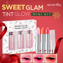[Secretkey]💕 Secret Key Sweet Glam Tint Glow Mini Kit(3 types)/3 Color 1set