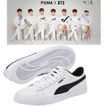 BTS Official Goods - PUMA X BTS COURT STAR Shoes + Photo Card BANGTAN BOYS Sneakers. BTS sneakers.