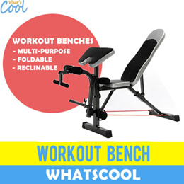 Sit Up Workout Bench Gym Multi-Purpose Barbell Abs Training Ab Rollers Pull Spring Dumbbell Weights