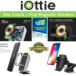 AMAZON Best Selling! iOttie One Touch and iTap QUICK Wireless Charger! Award Winning Technology . //