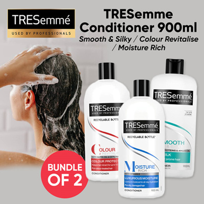 (BUNDLE OF 2) TRESemme Conditioner (900ml)