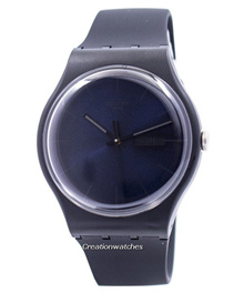 [CreationWatches] Swatch Originals Black Rebel Swiss Quartz SUOB702 Unisex Watch