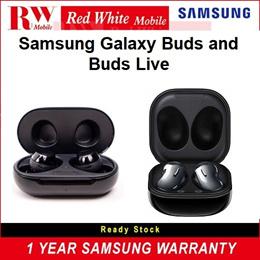 Samsung Galaxy Buds and Buds Live 1 Year Samsung Warranty