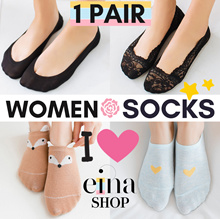 ❤️Women Socks❤️Invisible/Ankle/Regular❤️Cotton/Ice Silk❤️2018 NOV Updated New Designs❤️SG Ship