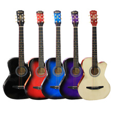 [SELLING FAST] MUKITA BY BLW 38inch Acoustic Folk Guitar Package /  BLW 38inch Acoustic Folk Guitar / Comes with BLW Guitar Bag and BLW Guitar Pick / BEST recommended package for beginner