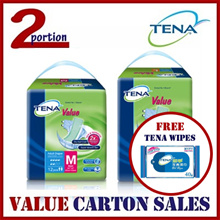 [FREE WIPES][READY STOCK][USE COUPON][FREE SHIPPING] TENA VALUE ADULT DIAPERS
