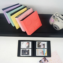 [Made In Korea][SWEET MANGO] BEOND Mini Block Polaroid Album ver.3 + Decor Sticker / 72 Holders - [ Name Card Holder Business Card Book Organizer Book Polaroid Album Photo Album Photo Book ]
