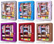 lemari rak pakaian jumbo lemari baju clothrack lemari rak baju