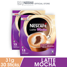 NESCAFE Latte Mocha 15 Sticks  2 Packs
