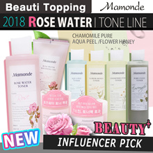 NEW★MAMONDE★Flower Toner collectiion/Rose/Aqua/Chamomile/Honey/Pore[Beauti topping]