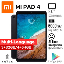 READY STOCKS Xiaomi MiPad 4 / LTE/ WIFI/Export set/ 1Month Local Warranty