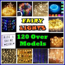 ★ [ SG SELLER - Walk in Purchase Available]  ★  LED FAIRY LIGHTS - 120 Over Models to choose From