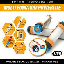 Outdoor Multi-function LED LIGHT Power Bank  Portable Mosquito repellent Magnet Lamp SOS