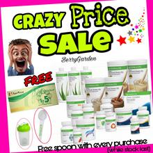FREE NTUC voucher*Spoon* Shaker/SINGAPORE STOCK/Authentic HERBALIFE shake/Low GI/Tea/Protein Powder