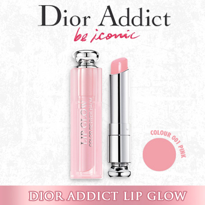 U.P $59.00 Christian DiorDior Addict Lip Glow Color Awakening Lip Balm 0.12oz 3.5g Color: 001 Pink Deals for only S$72 instead of S$0
