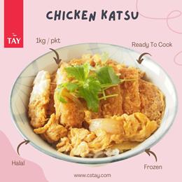 [CSTAY] Chicken Katsu (1kg)(Halal)(Frozen)( Ready To Cook )