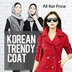 Coat wanita trendy ala korea  model oke harga terjangkau