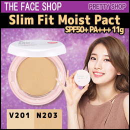 ★The Face Shop★ Slim Fit Moist Pact SPF50+ PA+++ 11g
