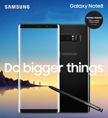 [Applied Coupon Discount] Samsung Galaxy Note 8 Dual Sim 64GB LTE - Import with 1 Year Seller Warranty