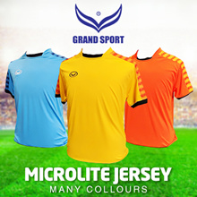 GRANDSPORT FOOTBALL TEAM ORDER JERSEY TOP T SHIRT SPORTS NECK MENS FOOTBALL SOCCER GRAND SPORT