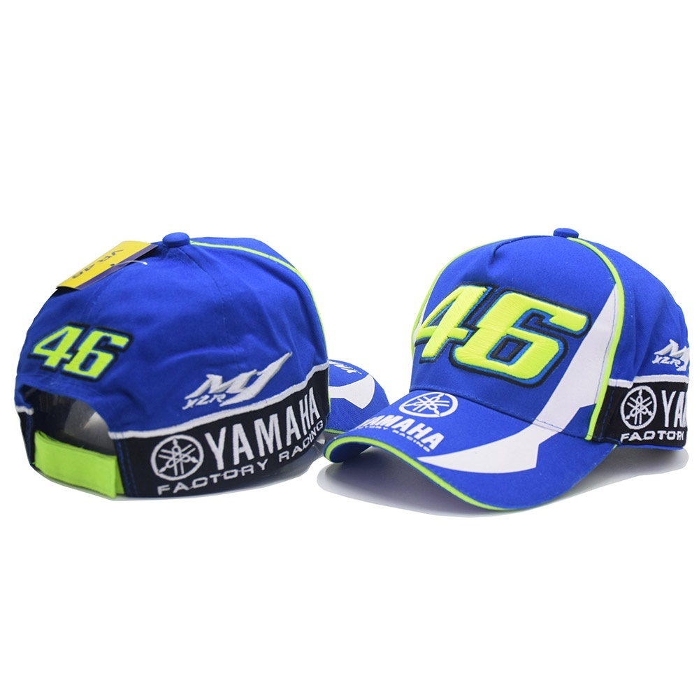 605ffe9ea3d fit to viewer. prev next. Blue Rossi VR46 Baseball Cap MOTO GP YAMAHA  Motorcycle 3D Embroidered Racing Hat ...