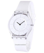 [CreationWatches] Swatch Classic White Classiness Swiss Quartz SFK360 Womens Watch