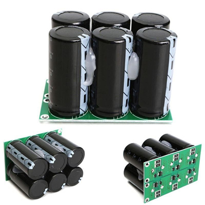 Wholesale-Best Promotion Farad Capacitor 2 7V 120F 6pcs Super Capacitor  With Protection Board 73x46x