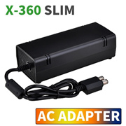 12V 135W AC Adapter Charger Power Supply Cord Cable for Xbox360 Slim New (Size: US/ EU Plug)
