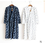 Quick View Window OpenWishAdd to Cart. rate 4. Japan Kimono Pajamas Men  Spring Summer Double Layer Gauze Gown Bathrobe ... 8ce0b1d11