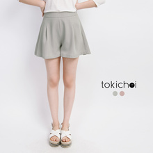 TOKICHOI - Striped Wide Leg Shorts-171638-Winter