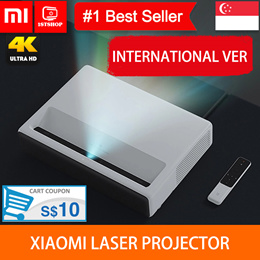 💖READY STOCK💖[Xiaomi Wemax Laser Projector] Projection TV 150 Inches 1080 Full HD 4K - export set