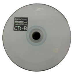 APPLE GREEN 52X CD-R (700MB/80MIN) 50pcs