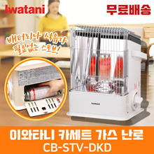 ★Recommended for home/outdoor camping★ Iwatani Lightweight Gas Stove CB-STV-DKD / Stove that does not require batteries or oil / IWATANI GAS STOVE