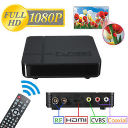 K2 Dvb T2 Tv Small Digital HD Box For Free To Air Channel WITH FREE HDMI CABLE AND DIGITAL ANTENNA