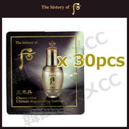 The history of whoo Cheonyuldan Ultimate Regenerating Essence (Sample) 1mlx30pcs天率丹 和率 エッセンス