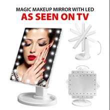 [TV] Magic Makeup Mirror with LED *Assorted Colours*