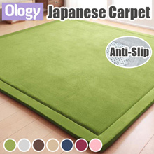Japanese Carpet Living Room Home House Thick Floor Mat Playmat Flannel Fleece Coral Mats