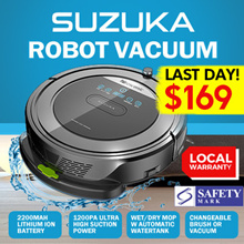 [Introductory Offer] Proscenic Suzuka 5-in 1 Vacuum and Mopping Robot (7000+ Reviews)
